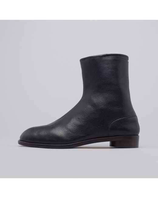 Black Flat Tabi Boots Maison Martin Margiela Discount Supply Best Prices Sale Online Buy Cheap Clearance Store Good Selling SELs7AC