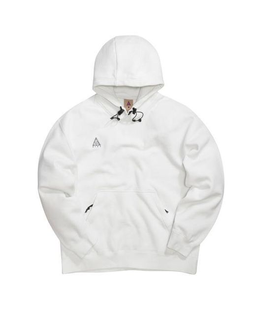 new style f854b a45cb Nike - White Hoodie for Men - Lyst ...