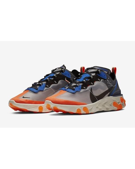 8d5b805f3788 Lyst - Nike React Element  87 in Blue for Men - Save 14.893617021276597%