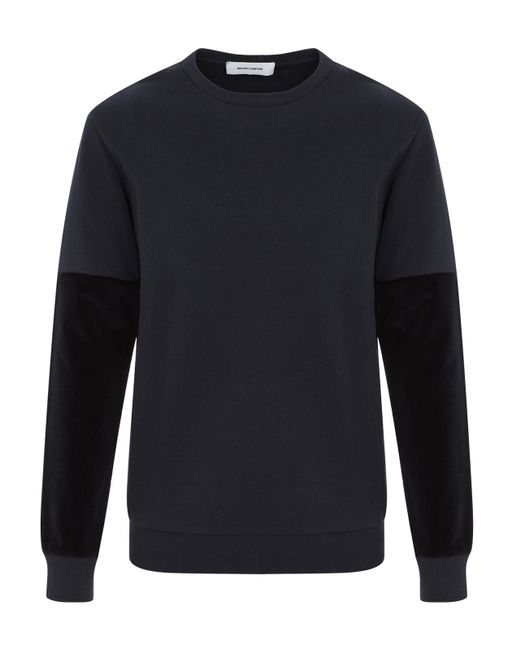 Mauro Grifoni - Blue Crewneck Sweater for Men - Lyst