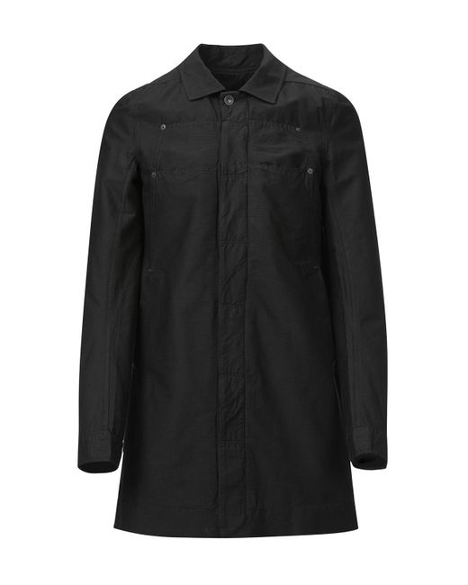 Rick Owens Drkshdw - Black Lab Coat for Men - Lyst