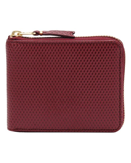 Comme des Garçons - Purple 17fw Luxury Group Full Zip Wallet Burgundy - Lyst