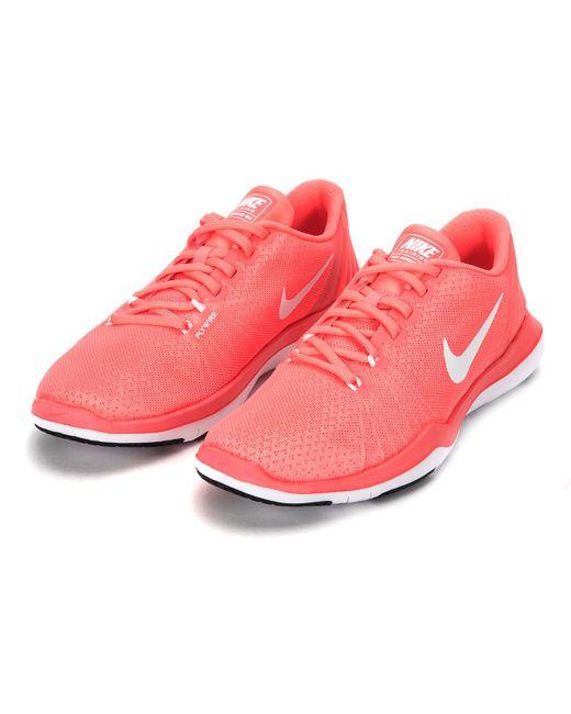 e32f54b48a5e ... Nike - Red Flex Supreme Tr 5 for Men - Lyst ...