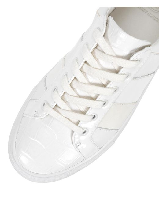 ff3424a0644f ... Tory Burch - White Ames Sneaker - Lyst ...