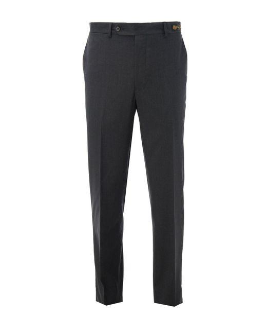Samuelsohn | Gray Wool Trouser for Men | Lyst