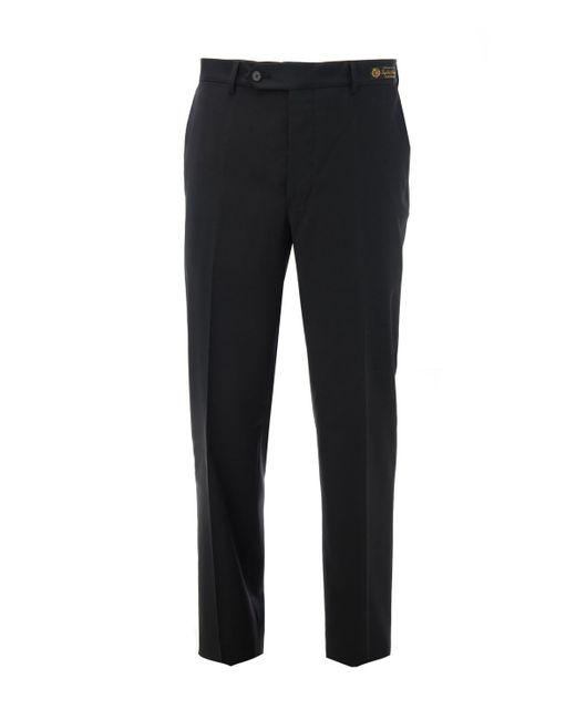 Samuelsohn - Black Wool Trouser for Men - Lyst