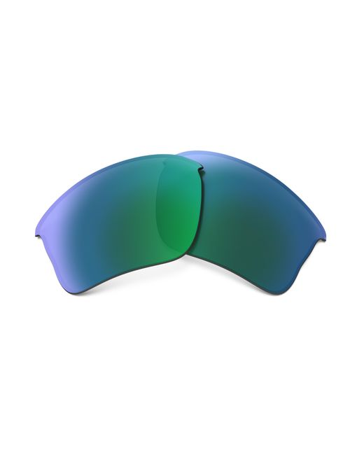 fe2106090b Oakley - Green Flak Jacket® Xlj Replacement Lenses for Men - Lyst ...