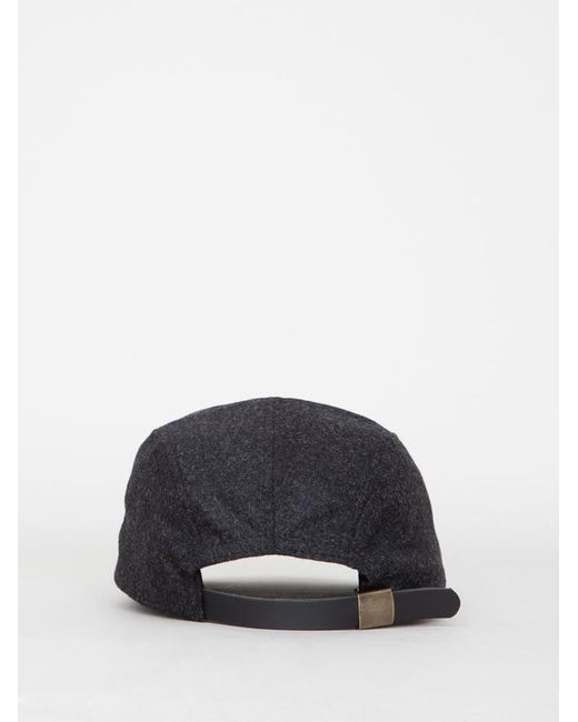 ... OAK - Blue Wool 5 Panel Hat for Men - Lyst ... 1d685ea0197a