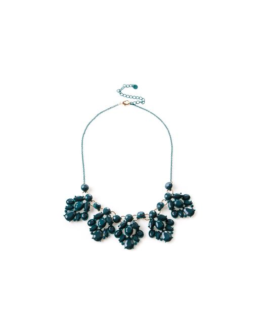 Oasis - Green Colour Block Necklace - Lyst