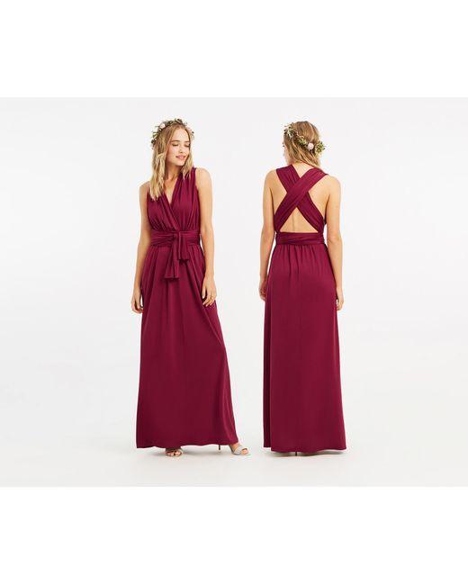 144b6fe695da Oasis - Multicolor Annie Multiway Maxi Dress* - Lyst ...