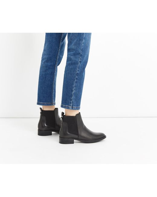 Oasis | Black Ailee Ankle Boot | Lyst