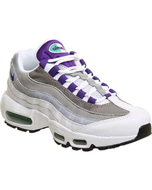 7d930ef7b8954 Lyst - Nike Air Max 95 F in White
