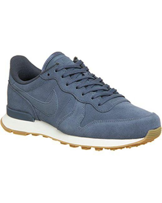 Nike - Blue Internationalist - Lyst