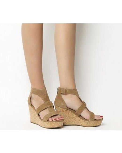 108517f1db62 Lyst - UGG Whitney Wedge in Brown