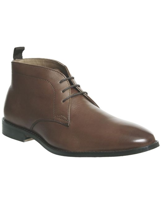 Office | Brown Exit Chukka Boots for Men | Lyst