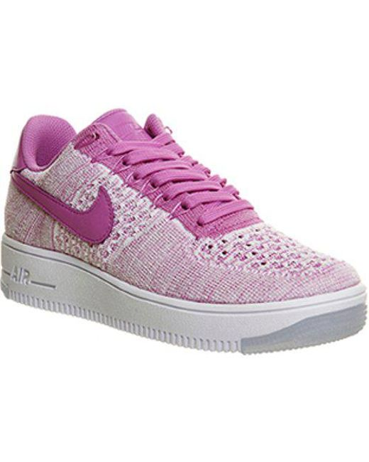 competitive price fff54 f0d34 Women's Air Force 1 Low Flyknit W