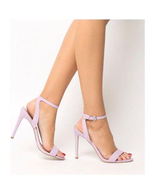 Office - Purple Alana Single Sole Sandal - Lyst