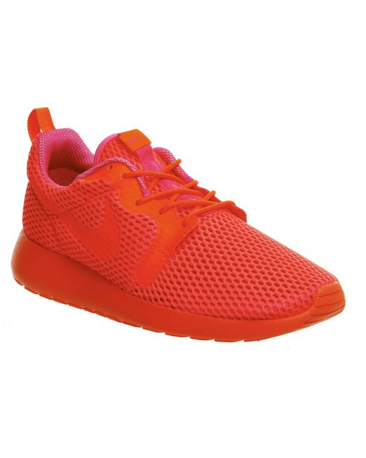Nike | Orange Roshe Run Hyp | Lyst