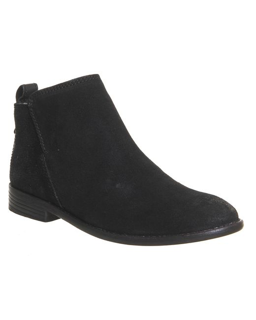 H by Hudson | Black H By Hudson Fairbank Flat Chelsea Boot | Lyst