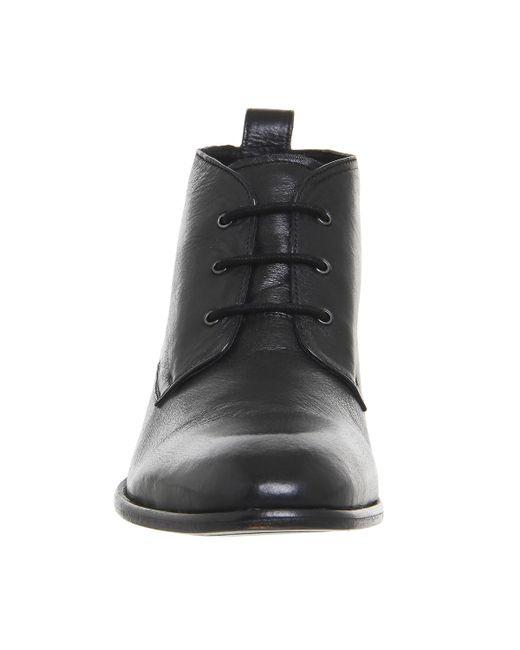 Office Black Entrance Chukka Boots For Men Lyst