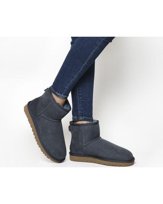 Ugg | Blue Classic Mini Ii Boots | Lyst