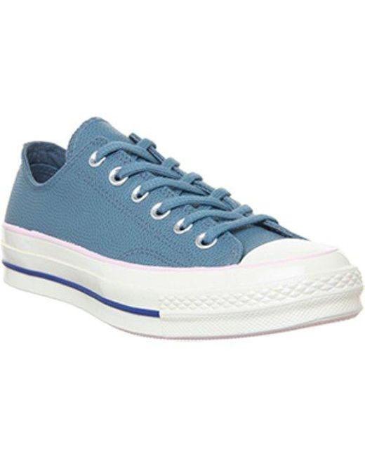 0355197a1645 Lyst - Converse All Star Ox 70 S L F in Blue