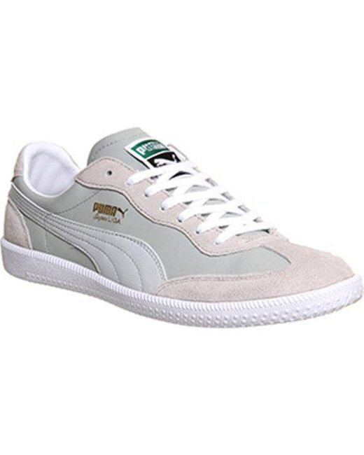 4a17de4ad92 Lyst - Puma Super Liga Og Retro in Gray for Men