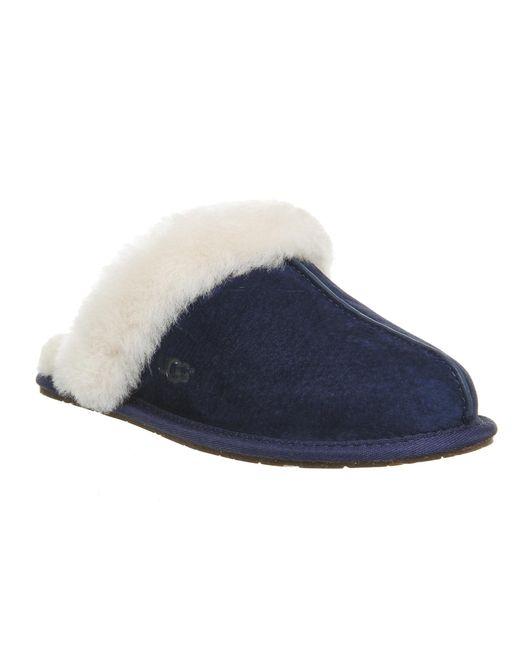 Ugg   Blue Scuffette Ii Slippers   Lyst