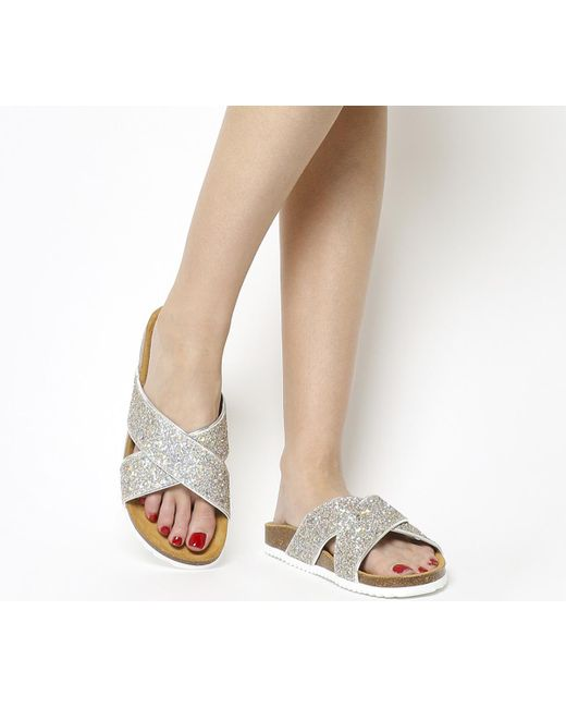 Office | Metallic Hoxton 2 Sandals | Lyst