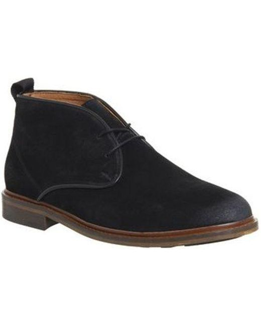 4d3969db571 Lyst - Shoe The Bear Dalton Chukka Boot in Black for Men