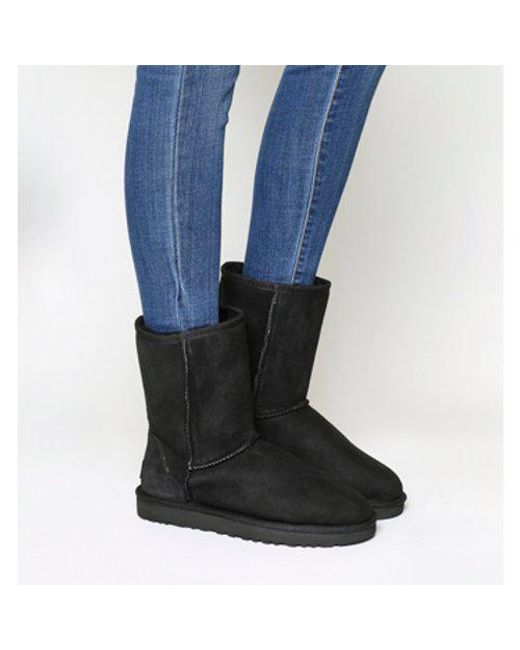 Ugg - Black Classic Short Ii Boot - Lyst