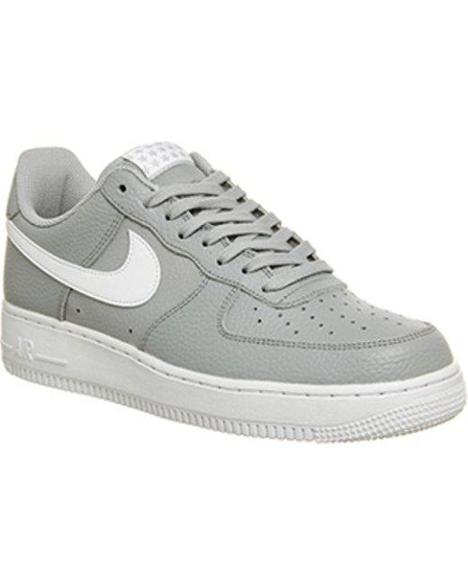 air force 1 office. Nike - Gray Air Force 1 07 For Men Lyst Office