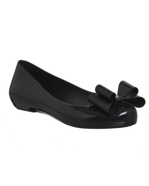 Zaxy | Black Pop Bow Pumps | Lyst