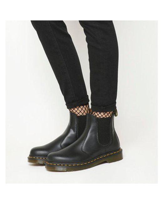 Lyst - Dr. Martens 2976 Chelsea Boot in Black 4a6b293f64