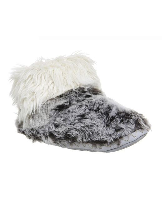 Bedroom Athletics | Gray Jesse Short Slipper Boots | Lyst
