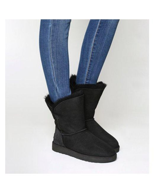 Ugg - Black Bailey Button Ii Boots - Lyst