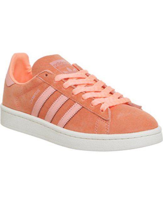 d4caac0d5179a7 ... Adidas - Orange Campus - Lyst lowest price 4ff0e a297b  Adidas Campus  Vulc II OrangeWhiteWhite - Bonkers ...