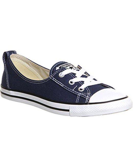 Converse - Blue Ctas Ballet Lace - Lyst