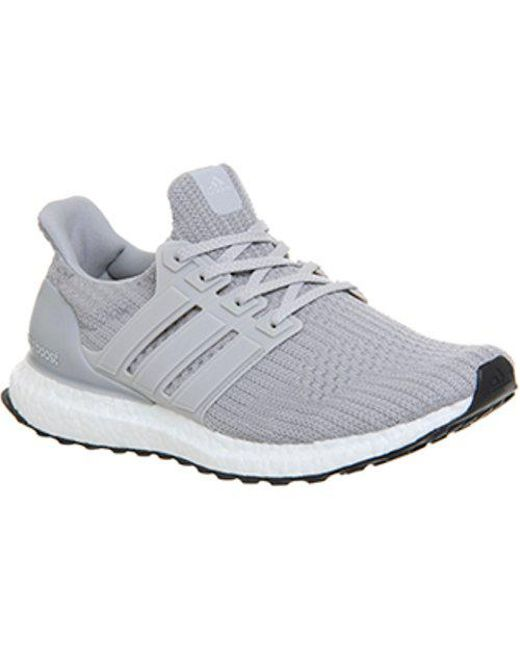 c8ef50440a8 adidas Ultra Boost in Gray for Men - Lyst