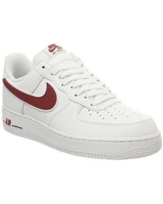 Men's White Air Force One (m)