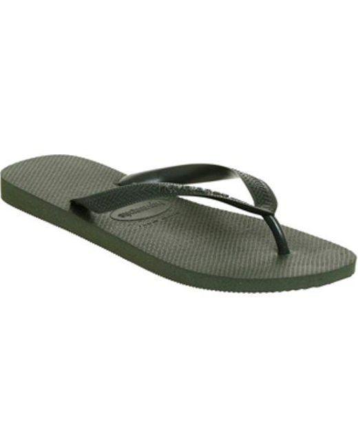 6860eaa9f Havaianas Top Flip Flop in Green for Men - Lyst