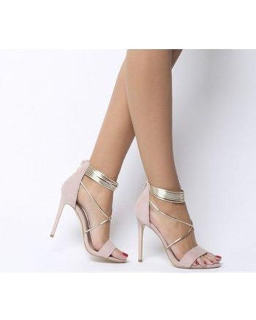 37f75ee4d37 Office Hollywood Tubular Strap Sandal E in Natural - Lyst