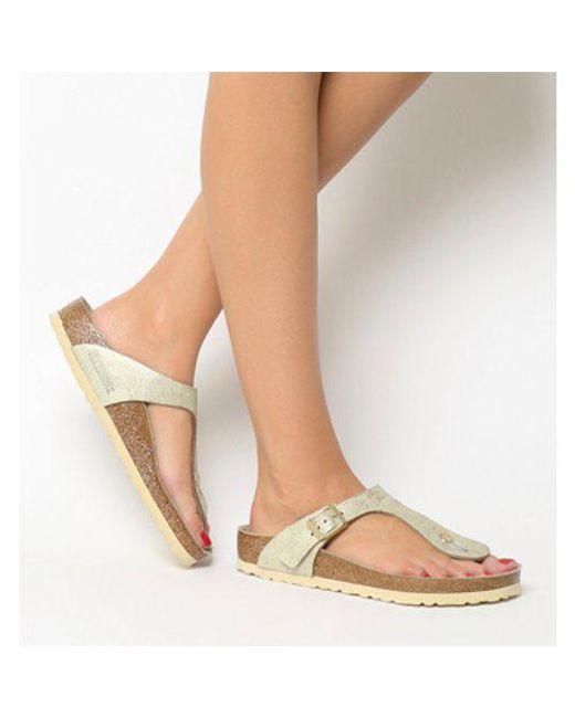 Birkenstock - Natural Toe Thong Footbed - Lyst
