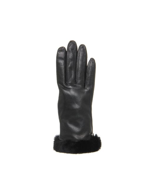 Ugg | Black Classic Leather Smart Glove for Men | Lyst