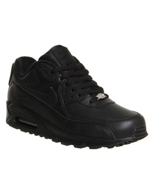 Nike | Black Air Max 90 for Men | Lyst