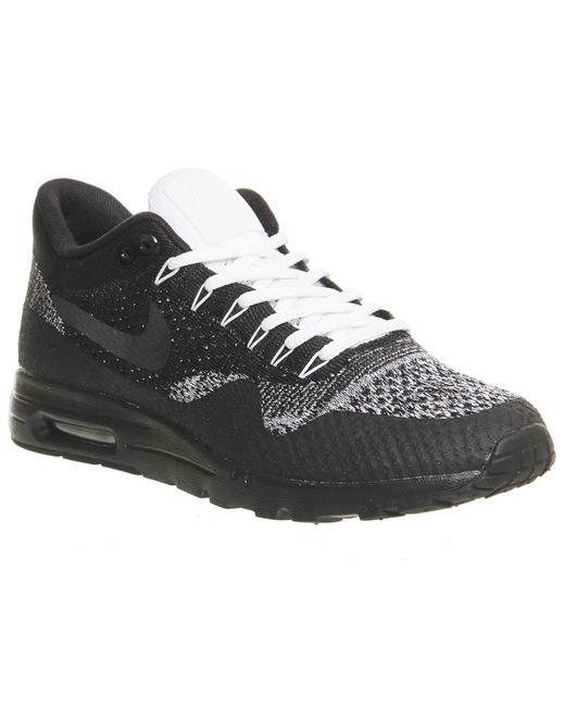 Nike - Black Air Max 1 Ultra Flyknit for Men - Lyst