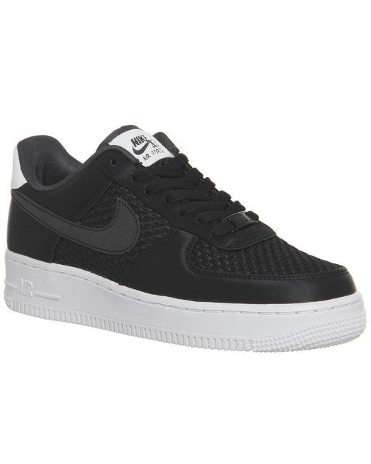 footlocker venta barata Nike Air Force 1 07 Formadores Negro Zapatos Para Hombre venta nueva visita entrega rápida venta venta populares toma muy barato WjbdD1gocD