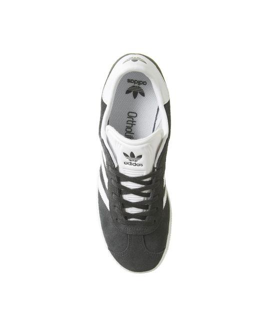 premium selection db02f 81de7 ... Adidas - Gray Gazelle Junior Trainers - Lyst ...