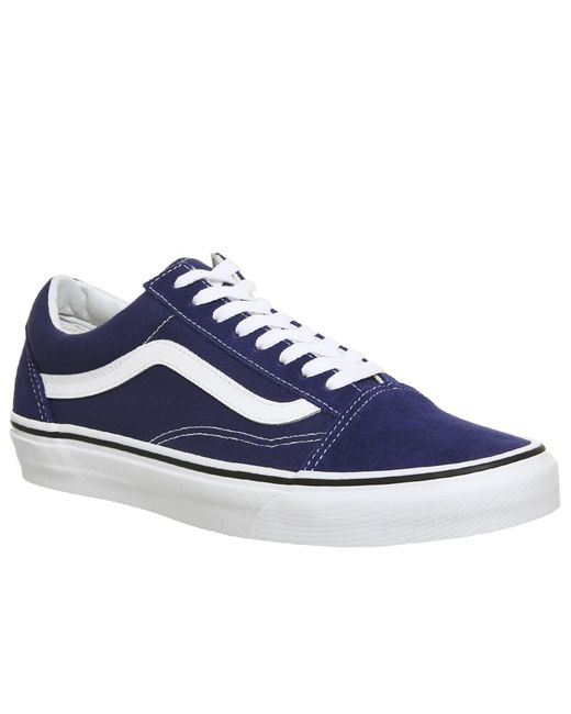 Vans - Blue Old Skool Trainers - Lyst