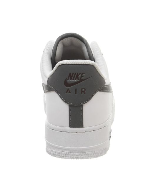 best authentic 460f3 b82f9 ... Nike - Gray Air Force 1 07 Trainers for Men - Lyst ...